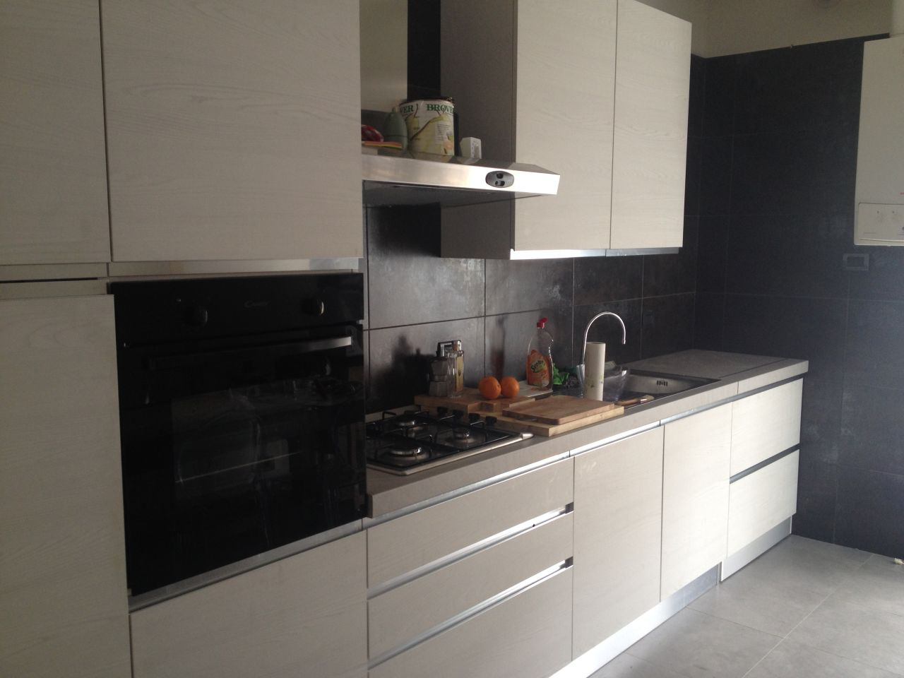 Cucina mobile lavatrice in legno geppetto falegname verona - Lavatrice cucina ...