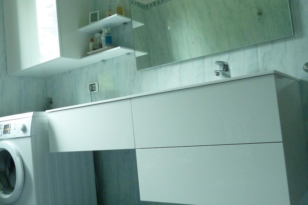 Basi sospese per bagno in legno u geppetto falegname verona