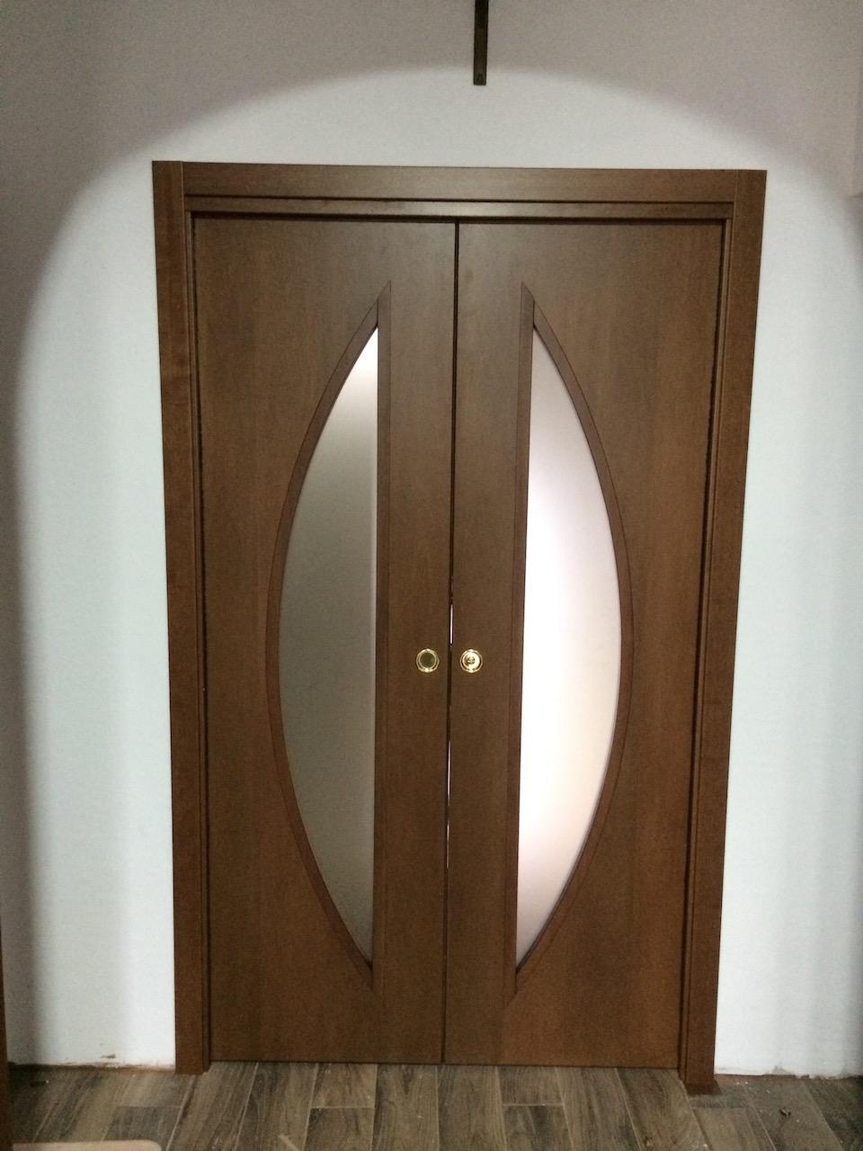 Porta scorrevole interno muro doppia – Geppetto Falegname Verona